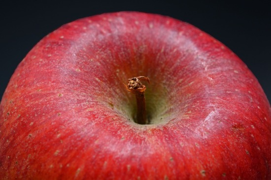 Close up of an apple